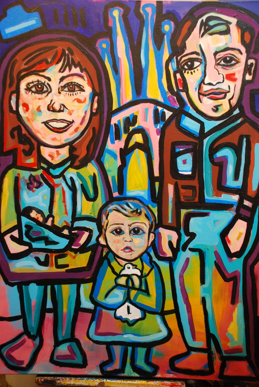 Sanz Family Portrait