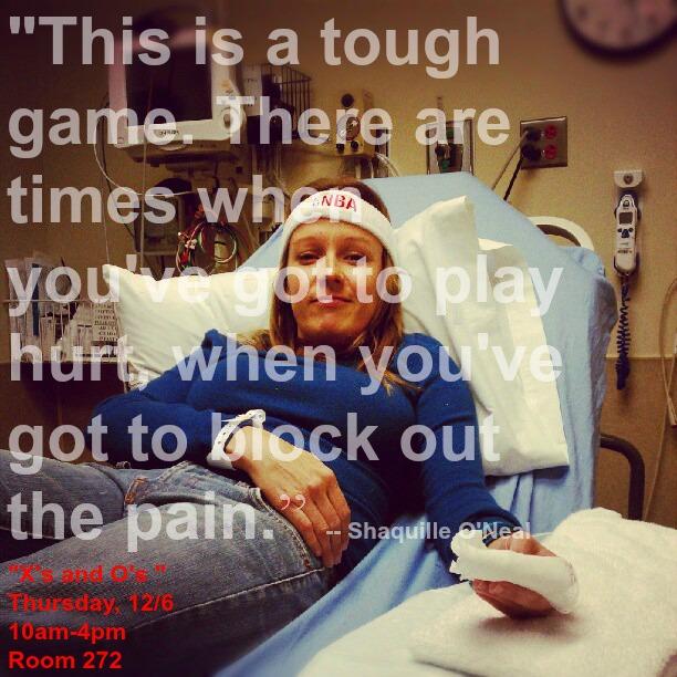 XO Gotta play hurt