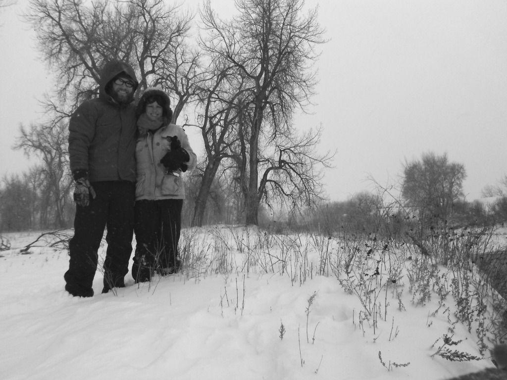 E Ryan Millie Snow Day