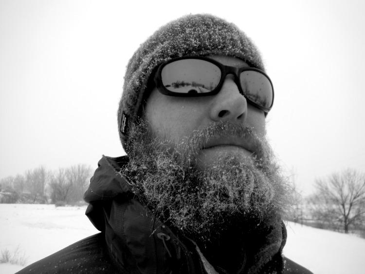 E Ryan Snow Beard